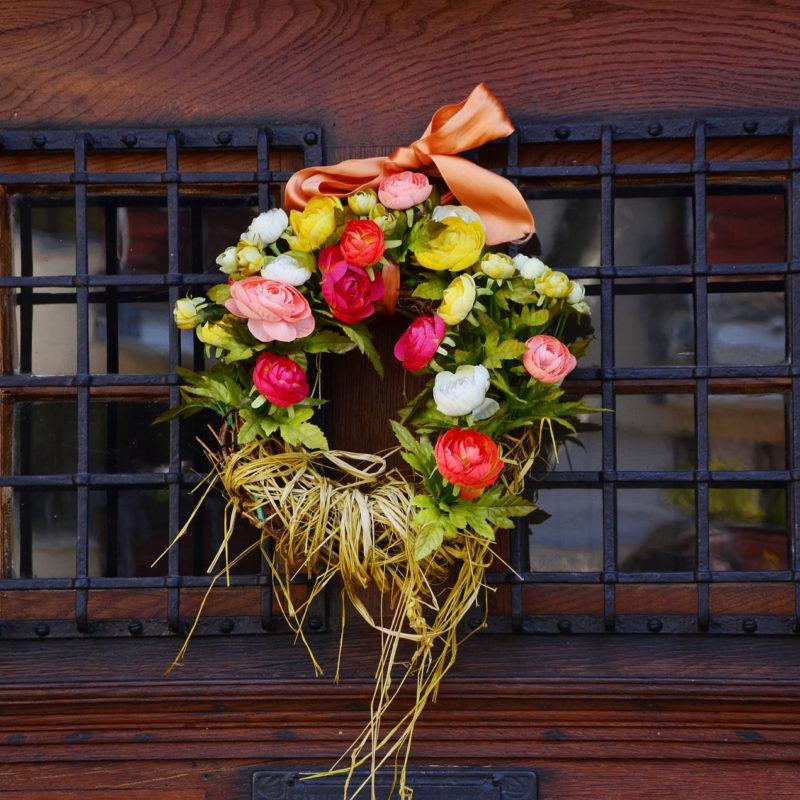 Flores mais usadas para construir guirlandas