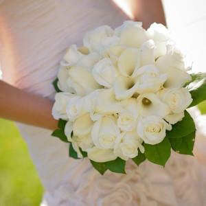 Flores para o buquê de noiva