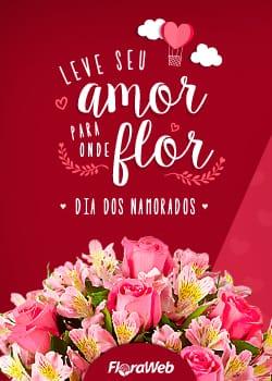 Banner dia dos Namorados Floraweb